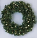 "Picture is 24"" wreath"