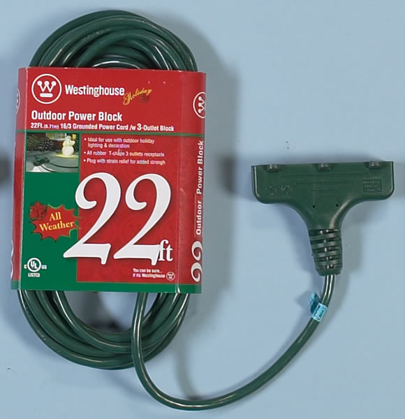 Green Wire Extension Cord