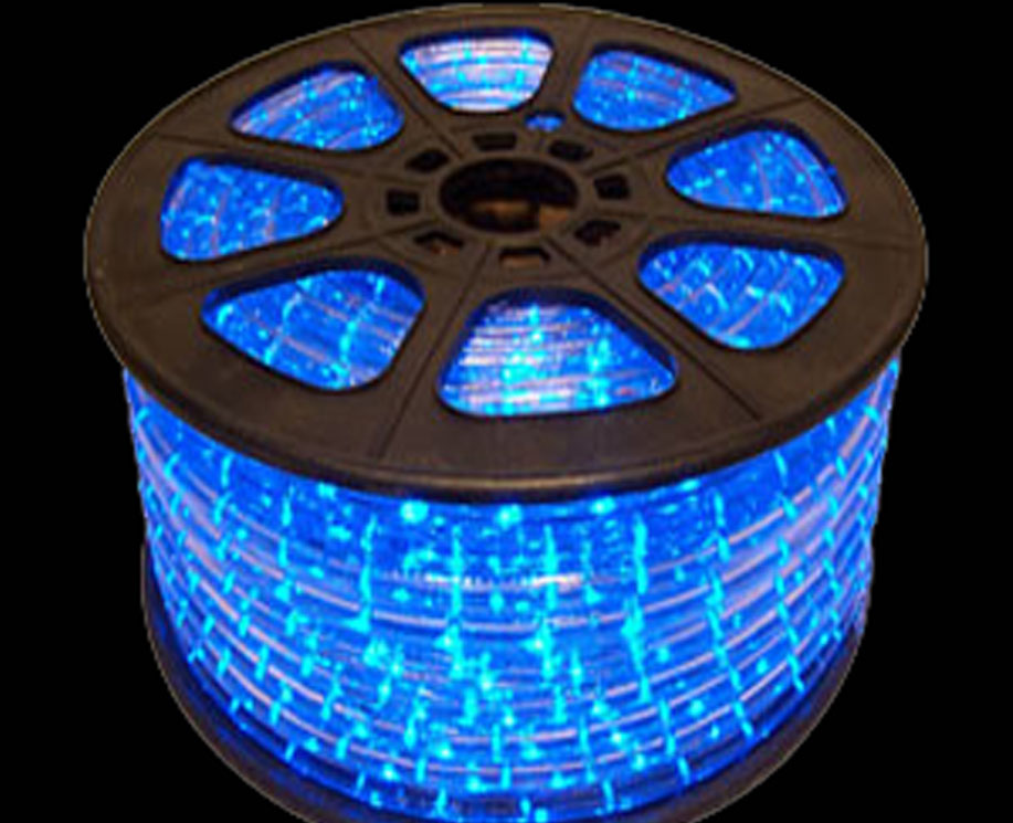 Blue LED Rope light in bulk