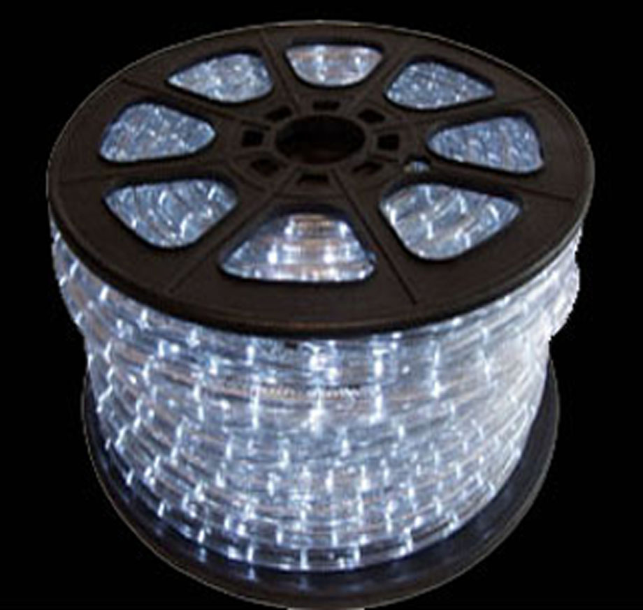 Led rope lights cool white led rope light rope spool aloadofball
