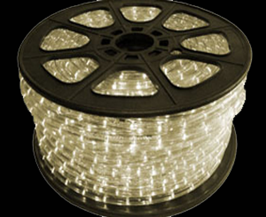 Led rope light bulk spool led warm white rope spool aloadofball Choice Image