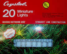 Christmas Tree Mini Lights