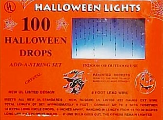 Halloween outdoor lighting