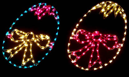 Lighted Easter Decoration