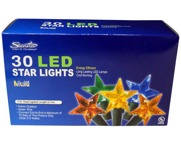 LED Lighted Stars