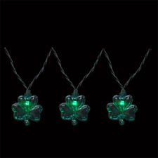 Novelty LED lights for Saint Patrick's Day