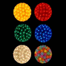 Starlight colored sphere balls 100 light starlight sphere 7 ball one bulb goes out others remain lit indoor outdoor ul approved aloadofball Images
