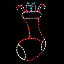 Outdoor LED Christmas Stocking