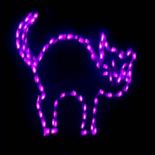 LED outdoor Lighted Cat