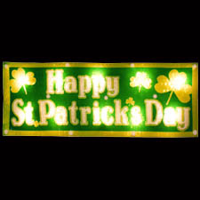 Saint Patrick's Day Lighted Sign