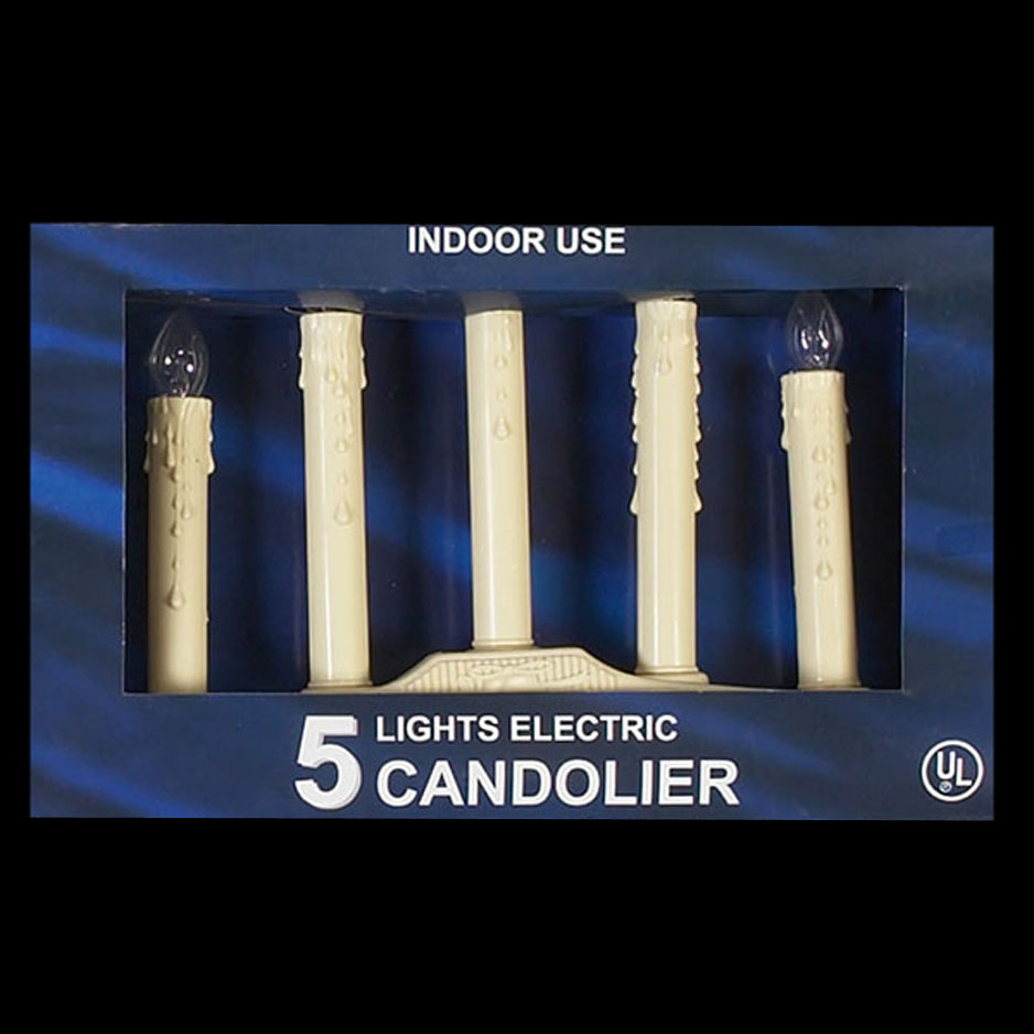 5 Light Window Candolier
