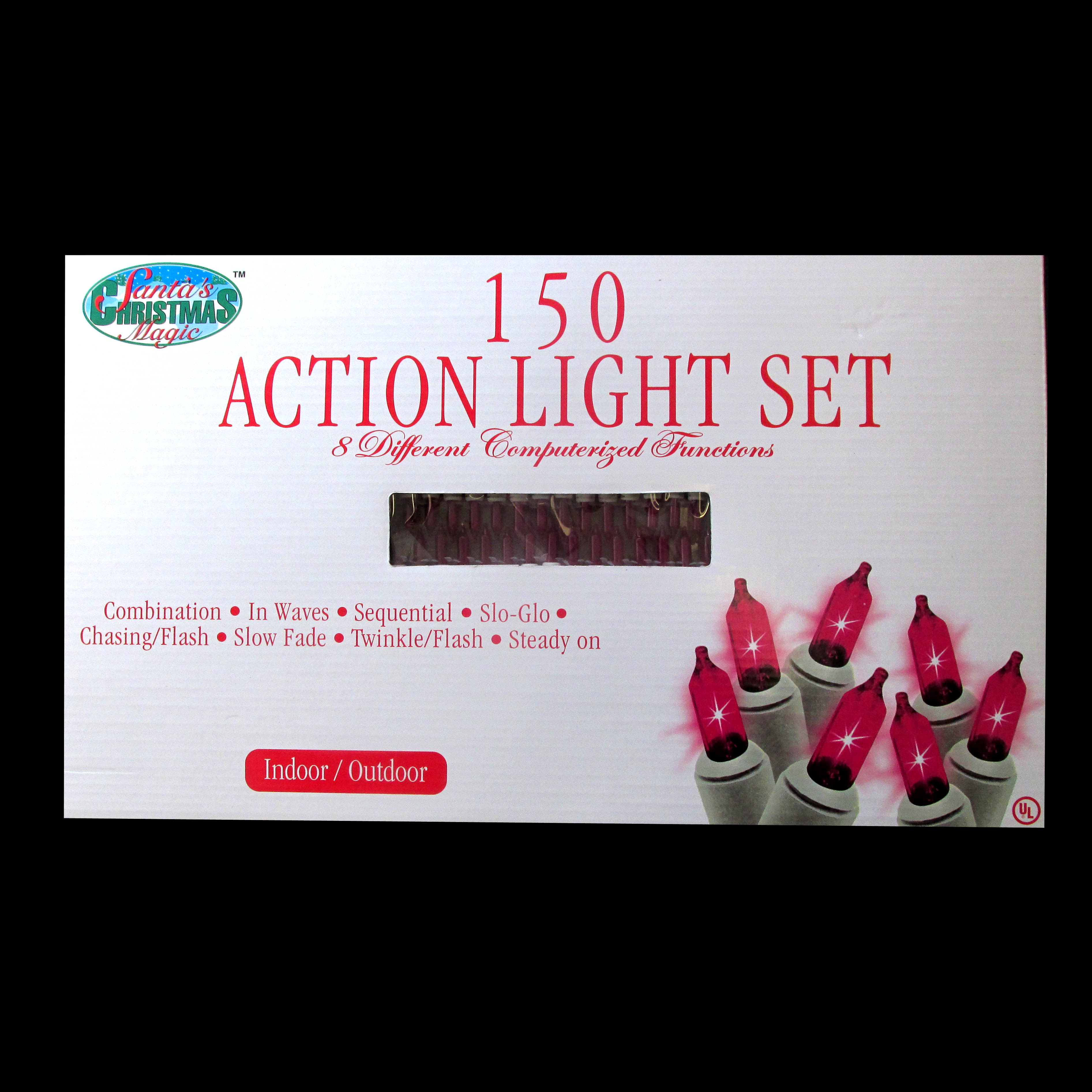 Pink Action Mini Lights