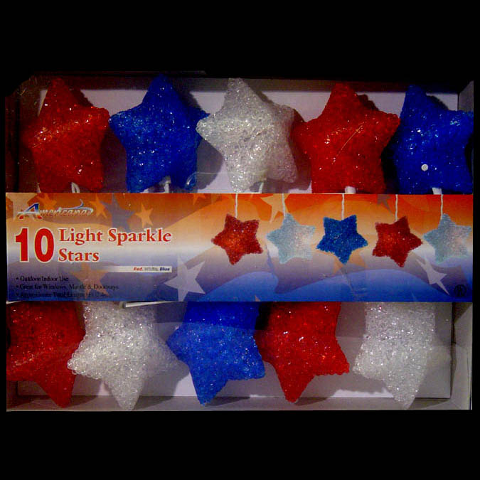 Red White Blue Patriotic Stars