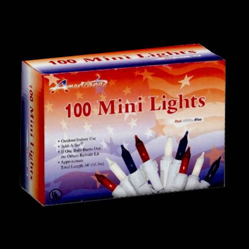 Patriotic Mini Lights