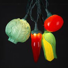 Cabbage Carrot Pepper Tomato Corn Light Set