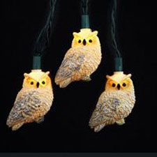 Novelty Owl Light Set