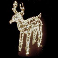 Christmas 3D Deer Display