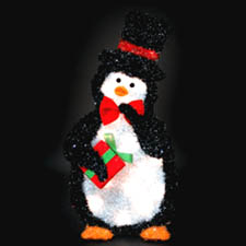 Penguin for yards and lawn decorations