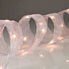 LED Lighted Christmas Tree Ribbon