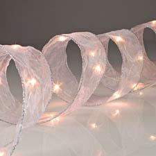 LED Lighted Christmas Tree Ribbon