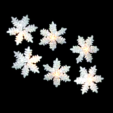 Frozen Snowflake Novelty Light Set