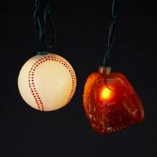 UL1856 Ball and Glove Novelty Lights