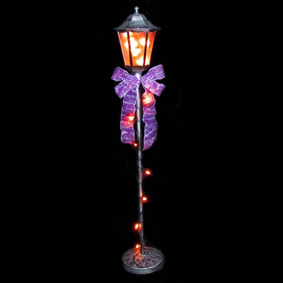 Lamp Post for Halloween Display