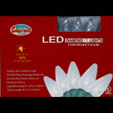 Set of 25 C9 LED Lights