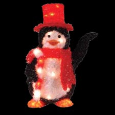 Lighted Christmas Penguin