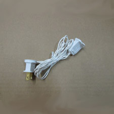 Extension cord for mini lights 3 foot christmas light extension cord aloadofball Gallery