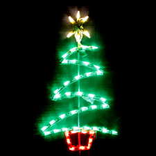 LED minature Lighted Christmas Tree