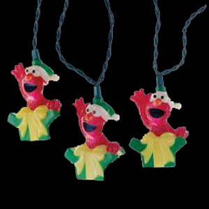 Elmo Christmas Tree Novelty Tree Novelty Lights