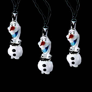 Olaf Novelty Light set 10 Lights