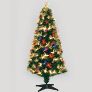 LED 6' Fiber Optic Tree