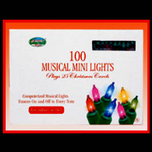 Musical Incandescent Mini Light set