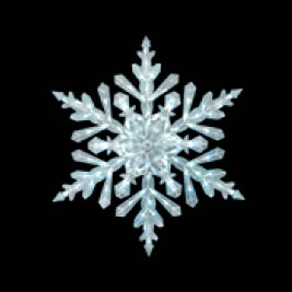 48 Giant LED Snowflake