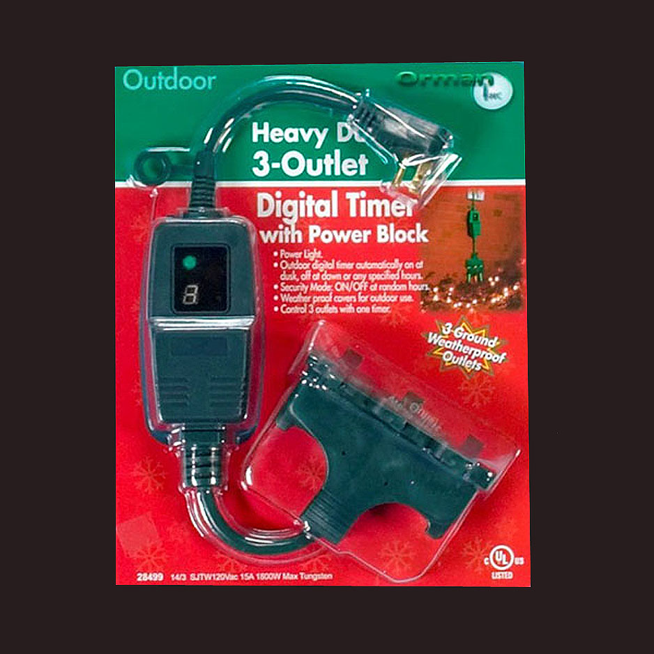 Heavy Duty Outdoor Timer