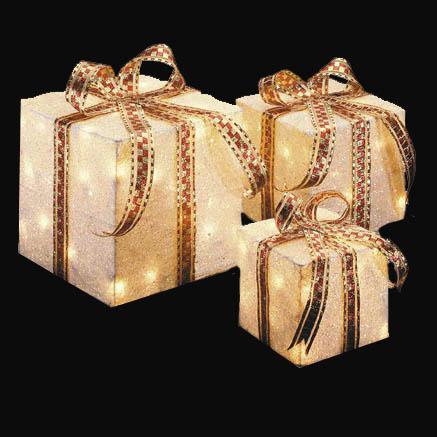 Outdoor White Gift Boxes