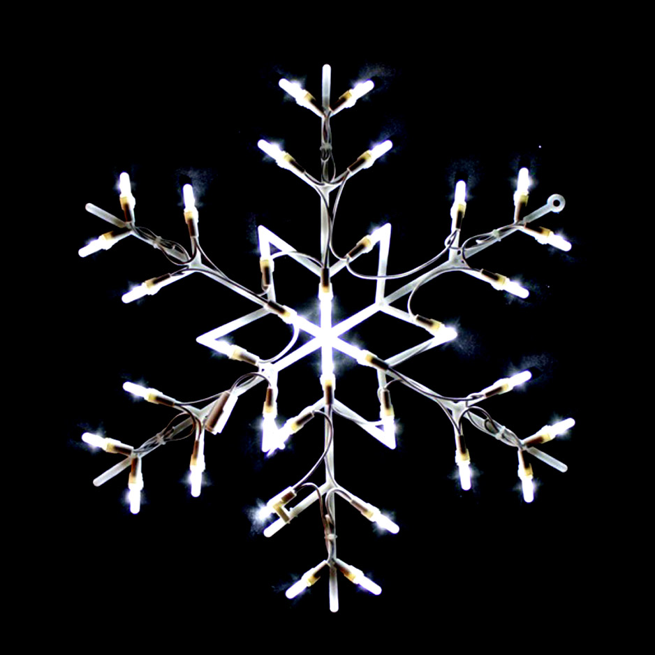 LED 35L Snowflake Indoor Outdoor