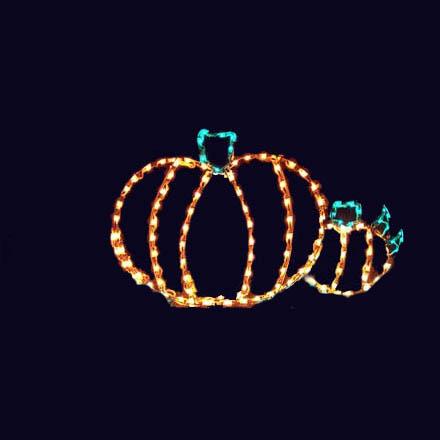 Yard Pumpkin Patch for Halloween
